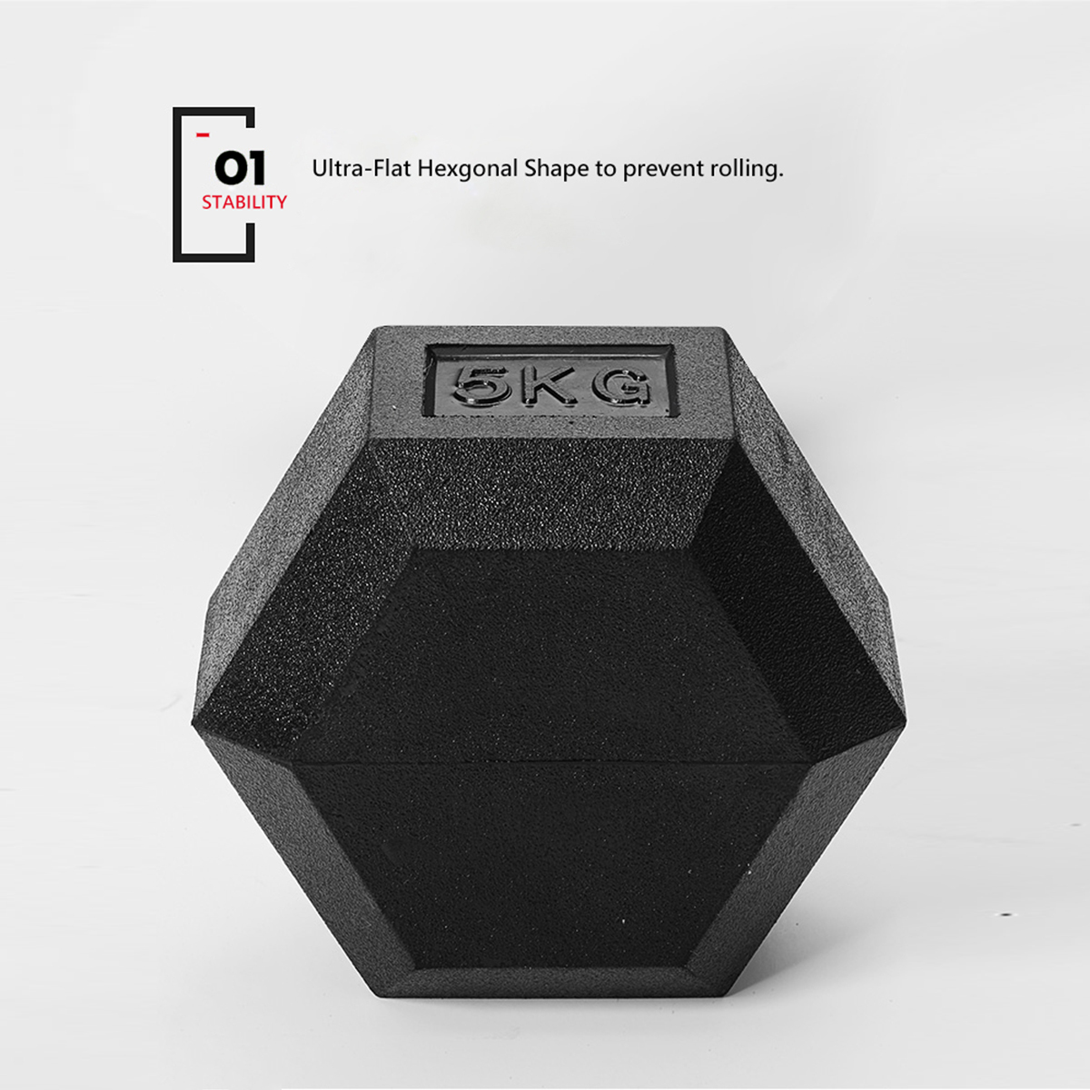 METEOR-1-30kg-Pair-Rubber-Hex-Dumbbell-Fitness-Gym-Strength-Weight-Training thumbnail 101