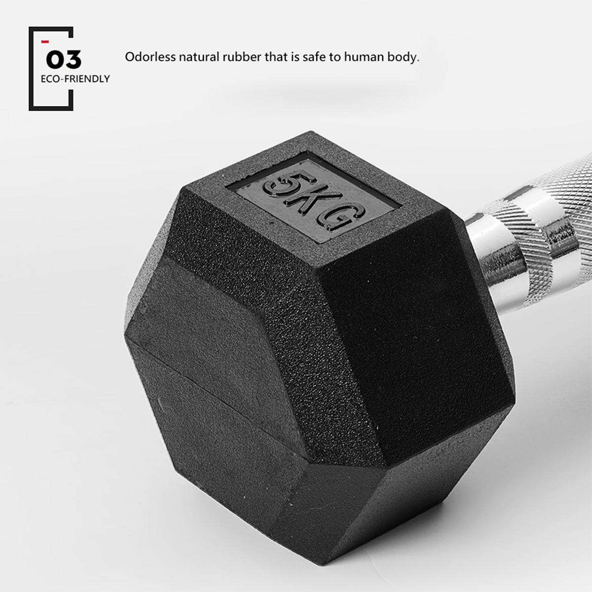 METEOR-1-30kg-Pair-Rubber-Hex-Dumbbell-Fitness-Gym-Strength-Weight-Training thumbnail 68