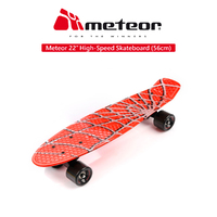 Meteor 22 Inch Penny Style High Speed Skateboard
